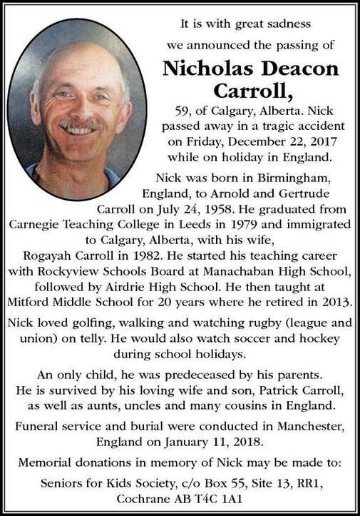 Nicholas  Carroll