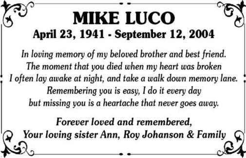 Mike  Luco