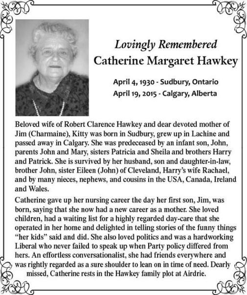 Catherine  Hawkey