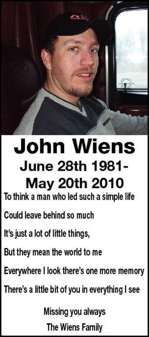 John  Wiens