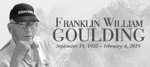 FRANKLIN WILLIAM  GOULDING