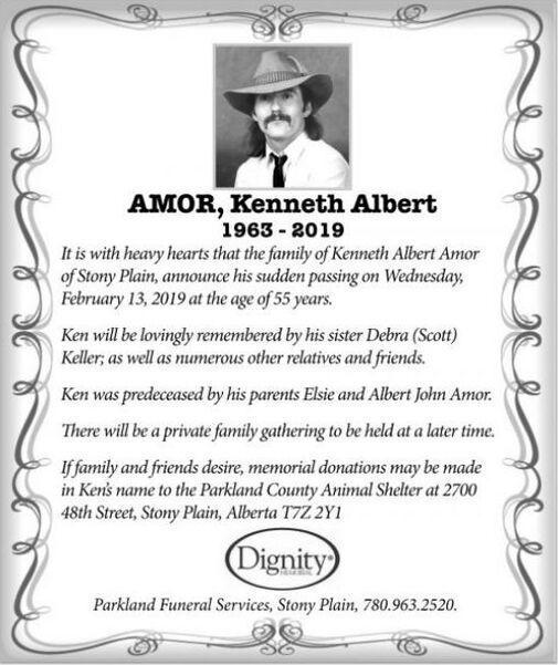 Kenneth Albert  AMOR
