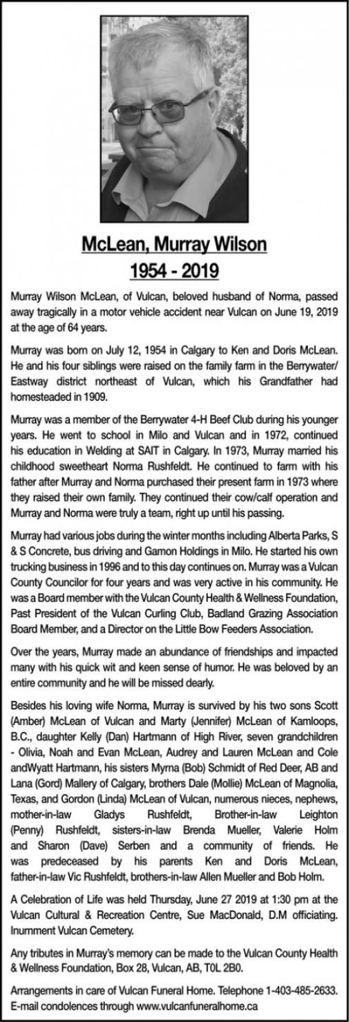 Murray Wilson  McLEAN