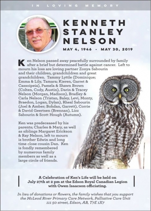 Kenneth Stanley  NELSON
