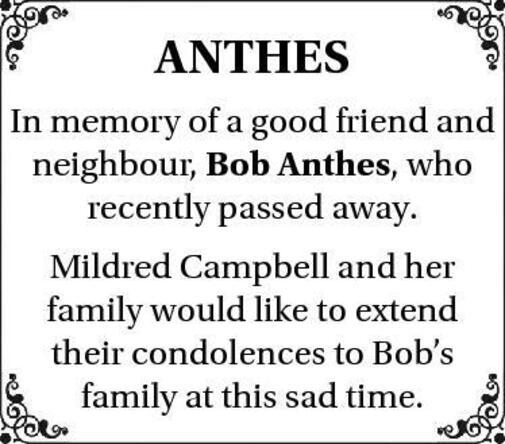 Bob  Anthes