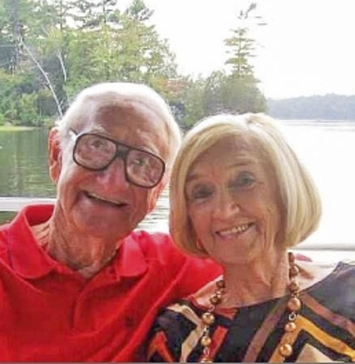 Jim and Madge  WARD