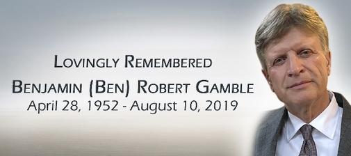 Benjamin  GAMBLE