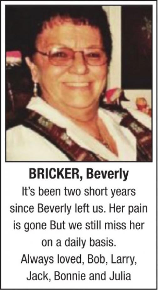 Beverly  BRICKER