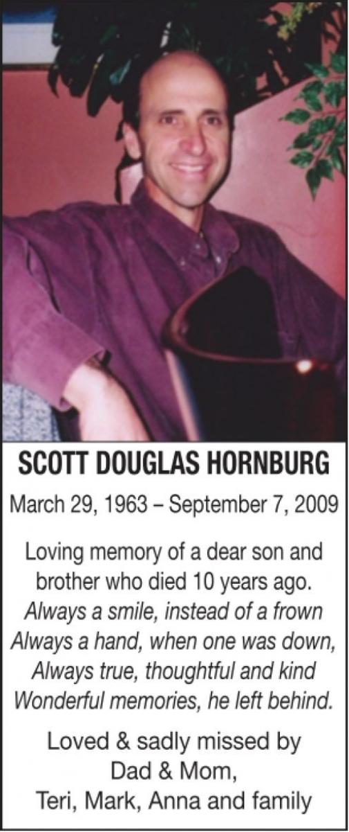 Douglas Honrnburg  SCOTT