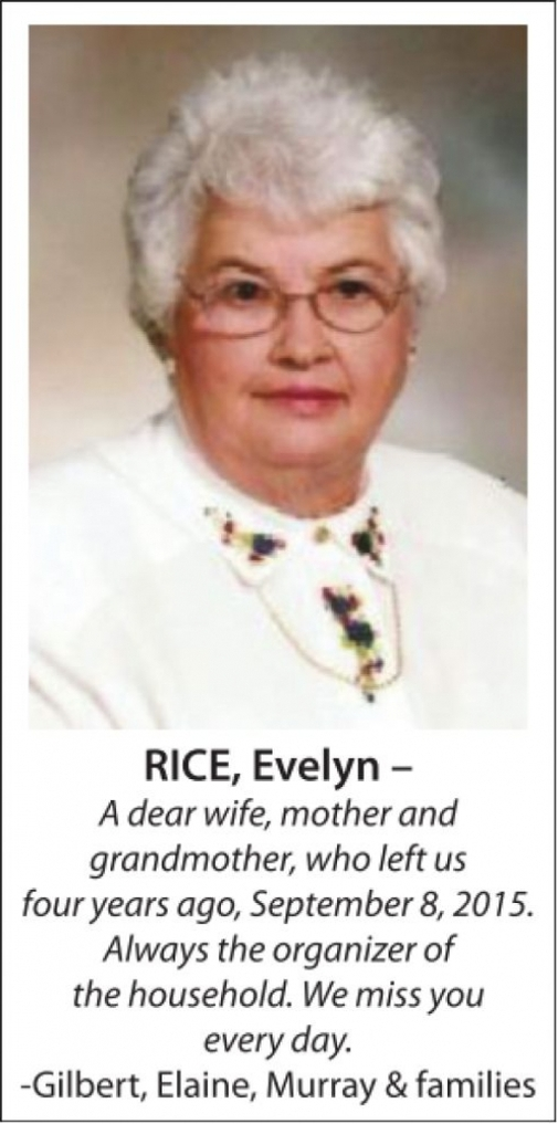 Evelyn  RICE