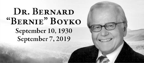 Bernard Bernie  Boyko