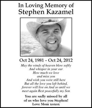 Stephen  Kazamel