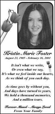Kristin  Foster