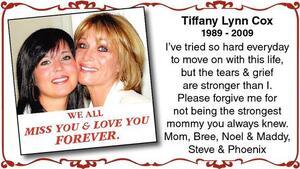 Tiffany Lynn  Cox