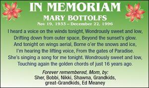 Mary  Bottolfs