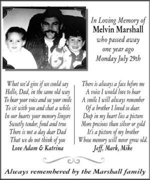 Melvin  Marshall