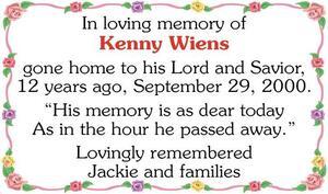 Kenny  Wiens