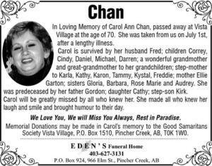 Carol  Chan