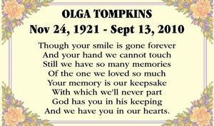 Olga  Tompkins