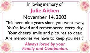 Julie  Aitken
