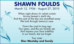 Shawn  Foulds