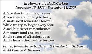 Ada-E  Carlson