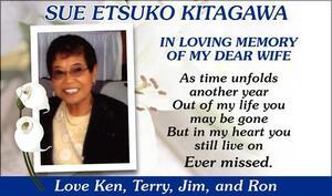 Sue  Kitagawa