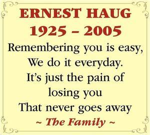 Ernest  Haug