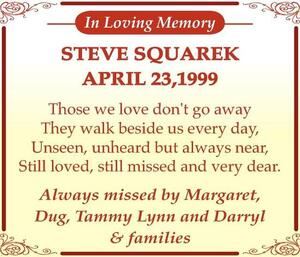 Steve  Squarek