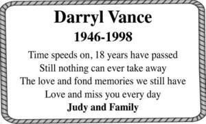 Darryl  Vance