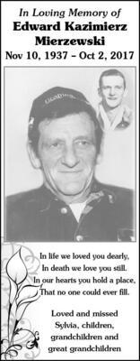 Edward Kazimierz  Mierzewski