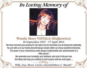 Wanda-Mary  Viitala