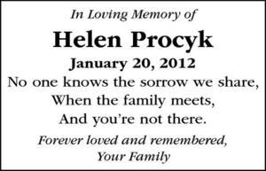Helen  Procyk