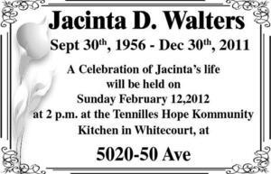 Jacinta  Walters