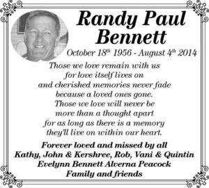 Randy-Paul  Bennett