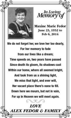 Maxine-Marie  Fedor