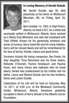 Gerald  Dulude