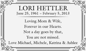 Lori  Hettler