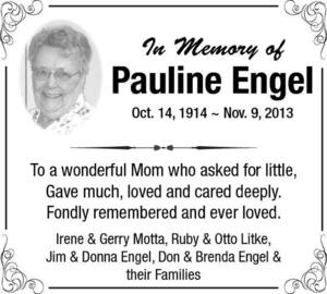 Pauline  Engel