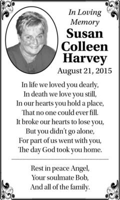 Susan-Colleen  Harvey