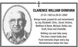 Clarence  Donovan