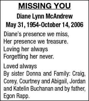 Diane-Lynn  McAndrew