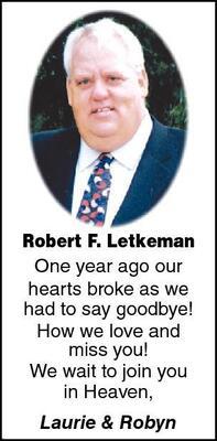 Robert F.  Letkeman
