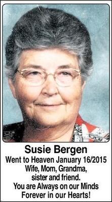 Susie  Bergen