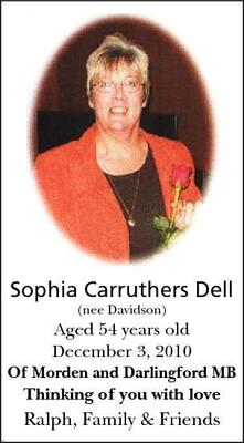 Sophia-Carruthers  Dell