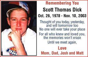 Scott Thomas  Dick