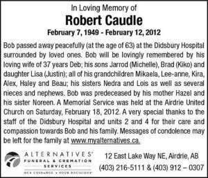 Robert  Caudle