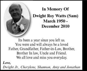 Dwight  Watts