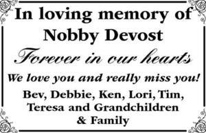 Nobby  Devost