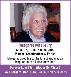 Margaret  Fleury